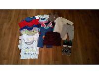 boys clothes bundle 0-3 months & 3-6 months