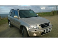HONDA CR-V 2.0 PETROL SUV / 4X4/ YEAR M.O.T EXCELLENT CONDITION!!!!!!!!!!!!!!