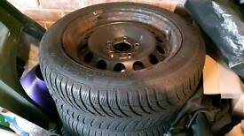 4 BMW Snow Tyres