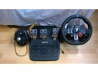 [LIKE NEW] Logitech Driving Force G29 | Wheel and Pedals And Shifter Set
