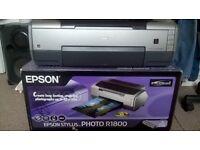 EPSON R1800 PHOTO INKJET A3+ PRINTER - BOXED