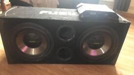 Fusion subwoofer speaker