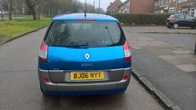Renault scenic, 1.6, 7 seater, open to swaps