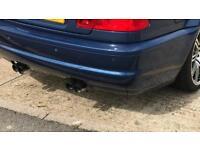E46 M3 rear bumper