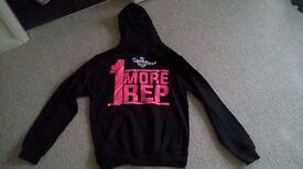 Gym theme hoodie (NEW)