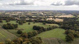 50 acres of grassland for hay near Goudhurst, Kent