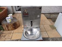 Hot water & sink unit for campervan or trailer project