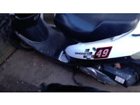 Baotian speedy 50 cc 4 stoke moped field bike, spares or repair.
