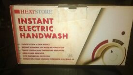 electric instant hot water heater hand wash unit