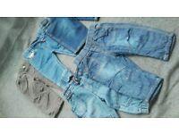 Bundle of boy trousers