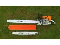 "stihl ms 660 chainsaw with 36""& 25""bar/chain"