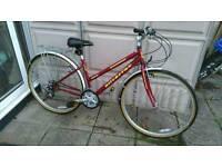 Ladies silverfox sfx breeze hybrid bike