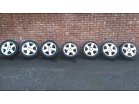 7 Peugeot 307 alloy wheels