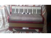 hohner carena 111m accordion 120 bass for sale