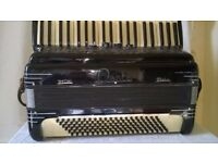 Rare Armonia Special De Luxe 120 Bass Piano Accordion with Provenance