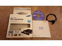 SAMSUNG BLURAY WRITER AND READER - EXCELLENT CONDITION