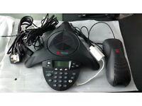 polycom Sound station conference Phone