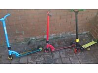 STUNT SCOOTERS MGP/SLAM/RAGE/AND MORE CHEAP AS