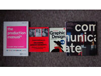 Bundle graphic design books - ideal for 1st year students