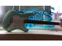 Fender Squire Stratocaster Surf green- £100 ONO