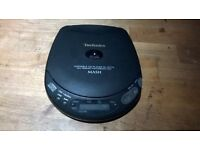 Technics Portable CD player with speakers (1995)