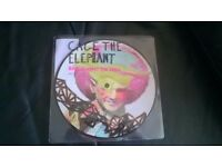"""Cage The Elephant 7"""" Single BACK AGAINST THE WALL Picture Disc -can post for extra-"""