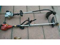Two grass trimmers no petrol in them untested go sepairs or repairs! Can deliver