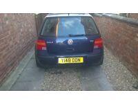 VW GOLF TDI SE 1.9 2001