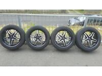 20 inch alloy wheels 5x112 fitment mercedes etc