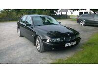 BMW 525d , e39 . 2002 . Manual . Full MOT. Read add. @NOT audi,vw, jaguar,peugeot,citroen,x5,rover@