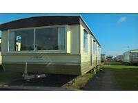 3 bedroom static caravan skegness never rented 35x13 sleeps 8