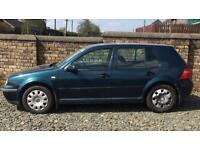 DIESEL VW GOLF TDI (2001) year mot 5 door
