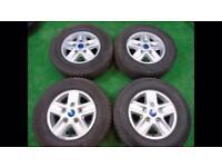 Ford transit alloy wheels x4