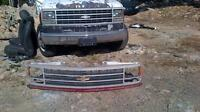 Front grill from 90s Chevy gmc 1ton truck