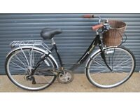 LADIES VIKING DUTCHSTYLE STEPTHROUGH TOWN BIKE IN EXCLLENT LITTLE USED CONDITION..