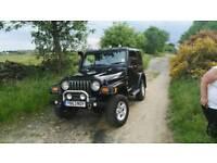 Jeep Wrangler Sahara with LPG
