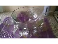 Large Drinks Bowl & Accessories Set