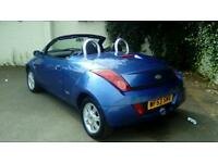 2004 Ford KA 1.6, Stop Top, Convertible, Low Miles, Leather Interior,