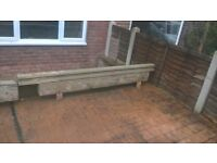 Concrete boot lintels