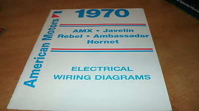 1970 amc amx javelin rebel wiring diagrams manual 1970 amc amx javelin rebel wiring diagrams manual