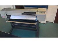 Hewlett Packard Designjet 500 A0 colour plotter/printer for sale