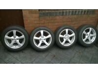 dezent 15 inch alloy wheels