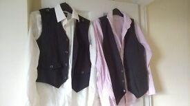 shirt and waistcoats
