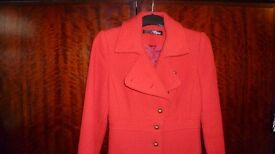 Jane Norman Red Coat size 8