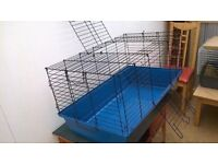 Rabbit and guinea pig indoor NEW cage for sale.