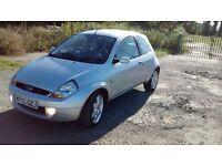 FORD SPORTKA 1.6 SE (Silver) Genuine mileage, perfect drive car