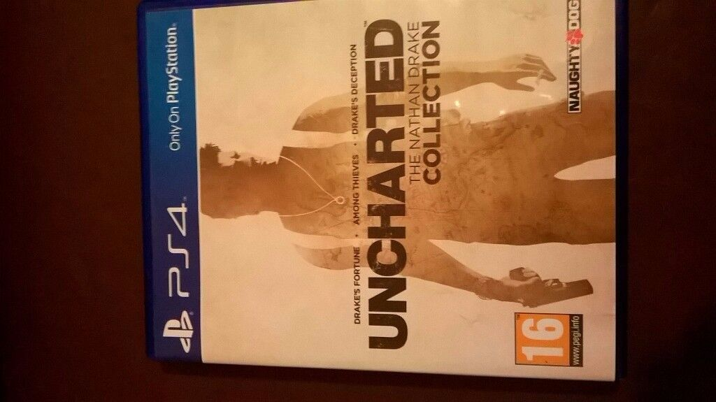 PS4 UNCHARTERED - The Nathan Drake Collection
