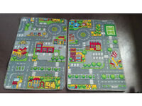 Kids rug / Mini Playmat learning carpets ( 67 cm / 100 cm )