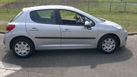 PEUGEOT 207 1.4 HDI SILVER 2009 79,000 MILES ,LOVELY CAR