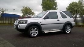 Land Rover Freelander Xei: + 1 MOT, Warranty, Great summer or winter car, tow bar.